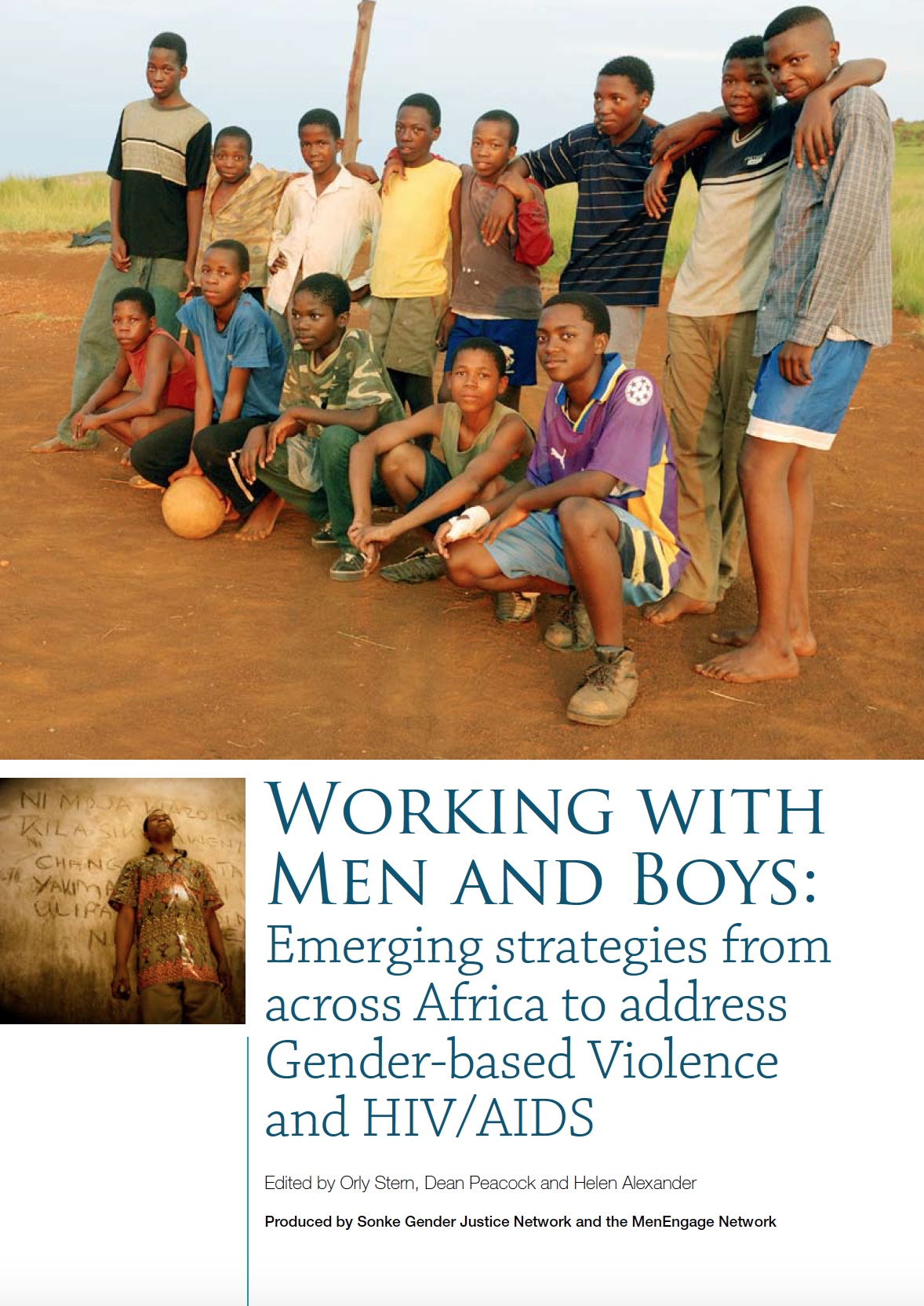 Stein, Working with Men and Boys - Africa Case Studies 09 - Cover