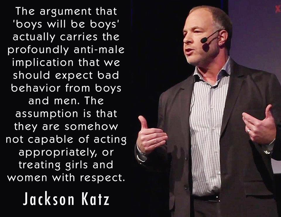 Jackson Katz on 'Boys will be boys'