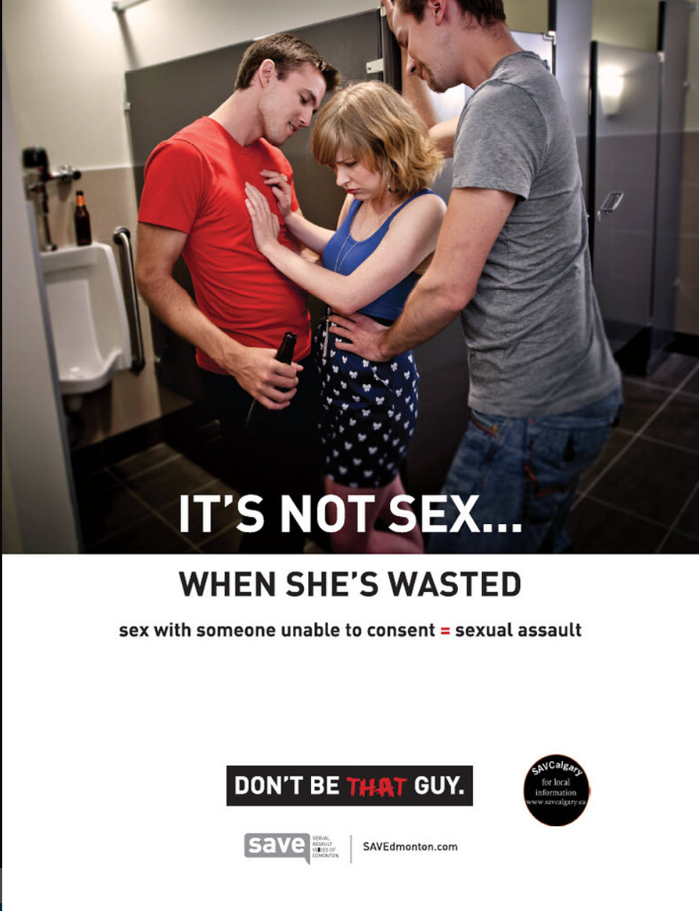 It's not sex - when she's wasted