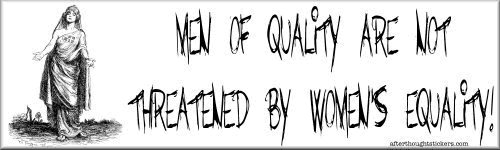 Men of quality not threatened
