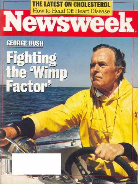 Newsweek, Fighting the wimp factor Oct 19 1987