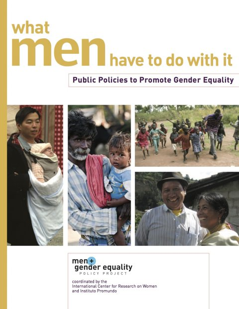 ICRW, What men have to do with it 2010 - Cover
