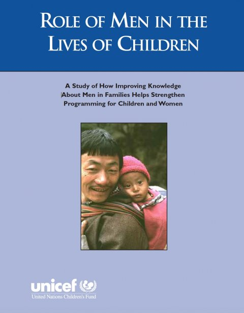 UNICEF, Role of Men in the Lives of Children 1997 - Cover