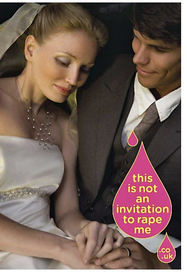 This is not an invitation to rape me - Wedding