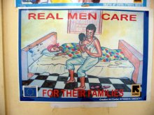 Real men care for their families