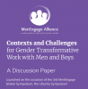 MenEngage, Contexts and Challenges for Gender Transformative Work with Men and Boys 2020 - Cover