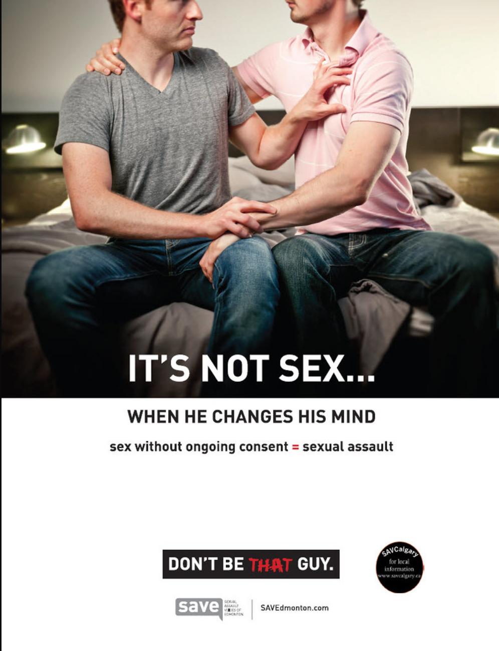 It's not sex - when he changes his mind