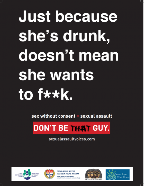 Just because she's drunk, doesn't mean she wants to f..k