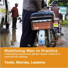 Greig, Mobilising men in practice - Cover lge