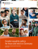Gender equality policy for boys and men in Germany - Short version 2020 - Cover